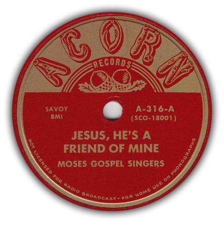 Acorn316F Acorn gospel discography
